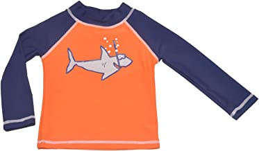 Flap Happy Boys' UPF 50+ Graphic Rash Guard/Swim Top