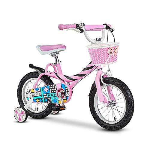 JIAYING Bicicletas Infantiles Niños Bicicleta 12 14 16 Pulgadas de Bicicletas niños...