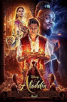 MCPosters - Disney Aladdin 2019 Glossy Finish Movie Poster Certified Print by PosterTodayUSA - CIN002  24  x 36   61cm x 91.5cm