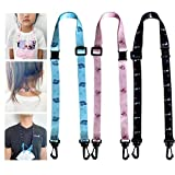 Adjustable Kids Breakaway Mask Lanyard for Kids Safety Breakaway Clasp Lanyard for Mask for Kids Adult Neck Strap Comfortable Around The Neck(3pack-2)
