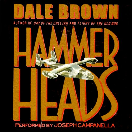 Hammerheads audiobook cover art
