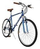 Vilano C1 Comfort Road Bike Shimano 21 Speeds 26' Wheels, Size 20', Blue