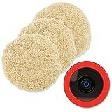 "Best SPTA Buffing Pads - Wool Polishing Pads, SPTA 8""(200mm) 100% Natural Wool Review"
