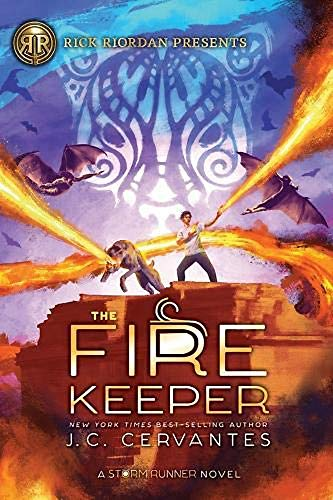 Cervantes, J: Fire Keeper (Storm Runner 2)