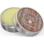 Beard Balm with Bay Rum Scent and Argan & Jojoba Oils - Styles, Strengthens & Softens Beards & Mustaches - Leave in… 3