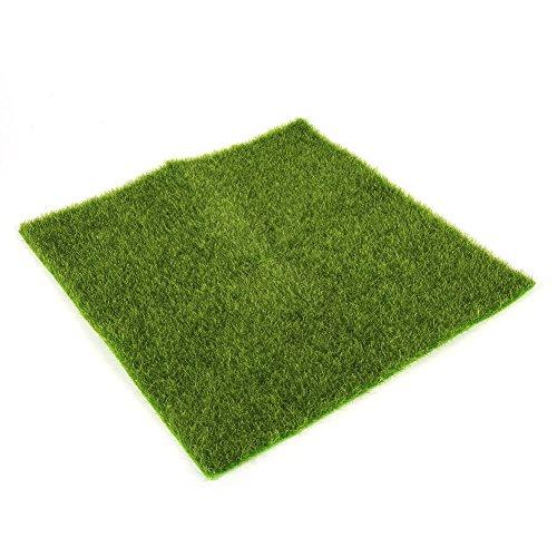 Delaman® Künstliche Grasmatte Simulation Rasen Kunstrasen für Garten Balkon Haus Deko (Size : 30x30cm)