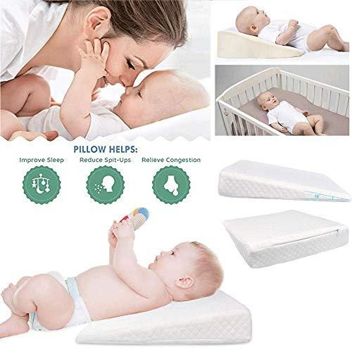 WZYGYDEF Baby Anti-Spuck wigkussen Reflux Comfort Slaap Memory Foam kussen