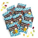 25 Stück kleine BAYERN blau weiß Gummibärchen give-away Geschenk