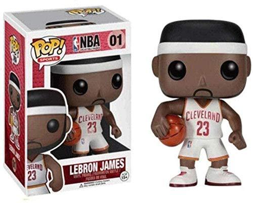 A-Generic Pop NBA Superstar: Cavs # 01 Lebron James No.23 (Away Game) Ideas de Regalos coleccionables