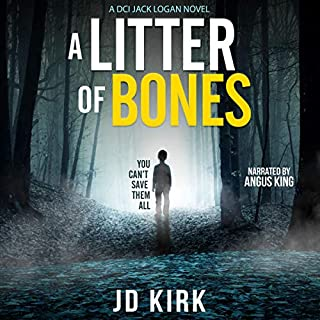 A Litter of Bones: A Scottish Crime Thriller audiobook cover art