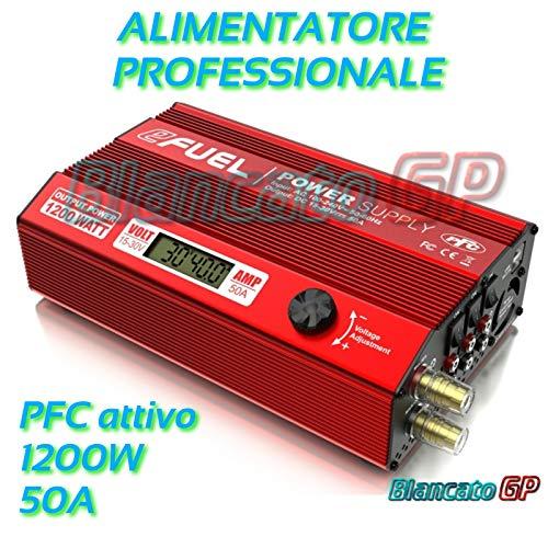 SkyRC eFuel Power Adapter & Wechselrichter Innen 1200 W, schwarz, rot – Leistungsadapter & Wechselrichter (Innenraum, 100-240 V, 50/60 Hz, 1200 W, 50 A, 89%)
