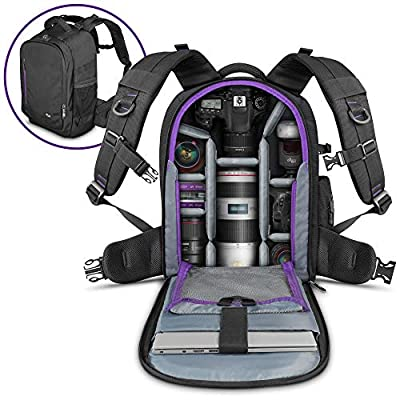 DSLR Camera Backpack Bag by Altura Photo for Cameras 89249b5a87b3a