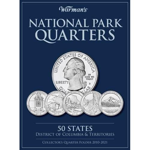 national parks quarters 50 states district of columbia territories collectors quarters folder 2010 2021 warmans collector coin folders