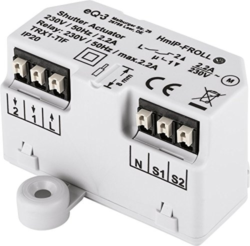 Preisvergleich Produktbild Homematic IP Smart Home Rollladenaktor - Unterputz,  intelligente Steuerung von Rollläden und Markisen,  auch per kostenloser App,  151347A0