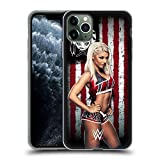 Head Case Designs Officially Licensed WWE Alexa Bliss American Flag Superstars Soft Gel Case Compatible with Apple iPhone 11 Pro Max