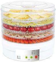 Déshydrateur Alimentaire, Programmation de la Programmation - Contrôle de la Température, avec 5 Plateaux Empilables, Faib...