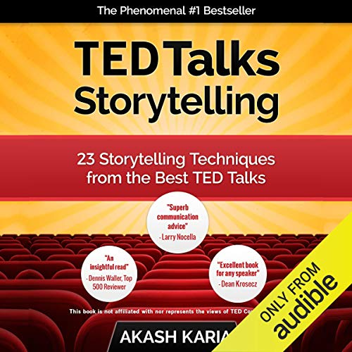 TED Talks Storytelling audiobook cover art