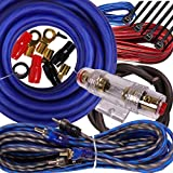 Best BOSS Amp Wiring Kits - Complete 2000W Gravity 4 Gauge Amplifier Installation Wiring Review