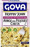 Goya Foods Hoppin' John Seasoned Rice with Blackeye Peas, 7 Ounce (Pack of 12)