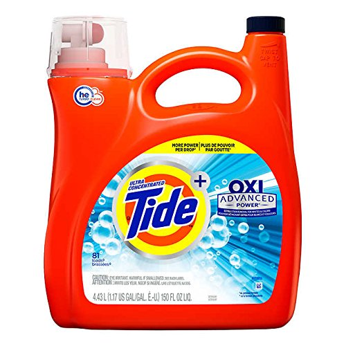 Tide Ultra Concentrate OXI Advanced PowerExtra Stain Removel for Whites amp Color Liquid Laundry Detergent  150 oz 81 Loads