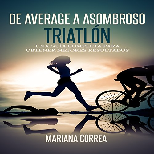 De Average a Asombroso Triatlon audiobook cover art