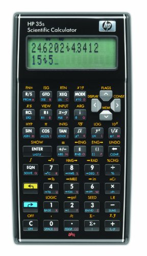 HP 35S/B12 Scientific Calculator, Bl