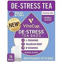 14-Count VitaCup DeStress Herbal Tea Bags
