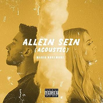 Allein sein (Acoustic)