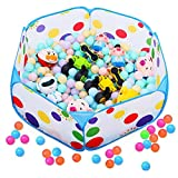 momok Kids Ball Pit Play Tent, Outdoor Indoor Playhouse Ball Pits for Toddlers Babies Children Portable Foldable Crawl Playpen Storage Bag, Balls Not Included