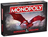 Monopoly Dungeons & Dragons   Collectible Monopoly Featuring Familiar Locations and Iconic Monsters from The D&D Universe
