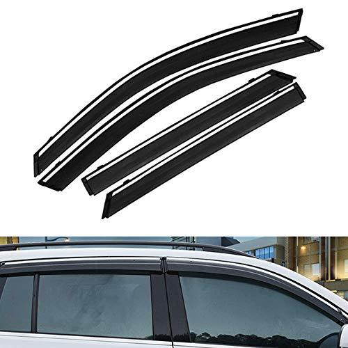 TUTU-C 4 Stück für Buick Verano (Sedan) 2017 2018 2019 ABS-Kunststoff Fenster Visier Sonnenschutz Abweiser Schutz Auto Styling