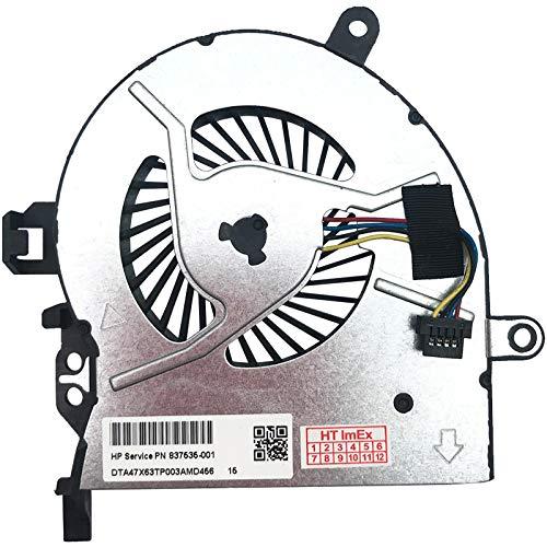 Lüfter Kühler Fan Cooler kompatibel für HP ProBook 455 G3 (N2G16AV), 455 G3 (P5T22EA), ProBook 450 G3 (P4P56EA), 450 G3(T6Q46ET), ProBook 455 G3 (P4P60EA), 455 G3 (T1B79UT)