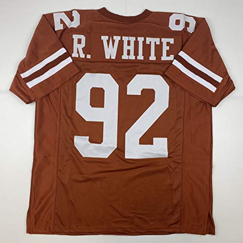 Unsigned Reggie White Tennessee Orange Custom Stitched College Football Jersey Size Men's XL New No Brands/Logos