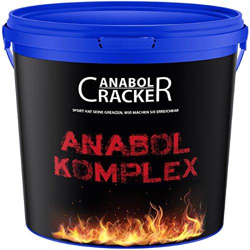Anabol Komplex Whey Protein Shake, 2,27Kg Banane, Eiweißpulver Molke, Glutamin Aminosäuren Muskelaufbau