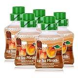 SodaStream Getränke-Sirup Softdrink Ice Tea Pfirsich Geschmack 375ml (5er Pack)