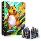 Sinwind ÁLbumes de Tarjetas Coleccionables, Pokemon Cartas Álbum, Comercio Tarjeta Álbum, Álbum de Cartas Coleccionables, Pokémon Titular de Tarjetas (Raichu)