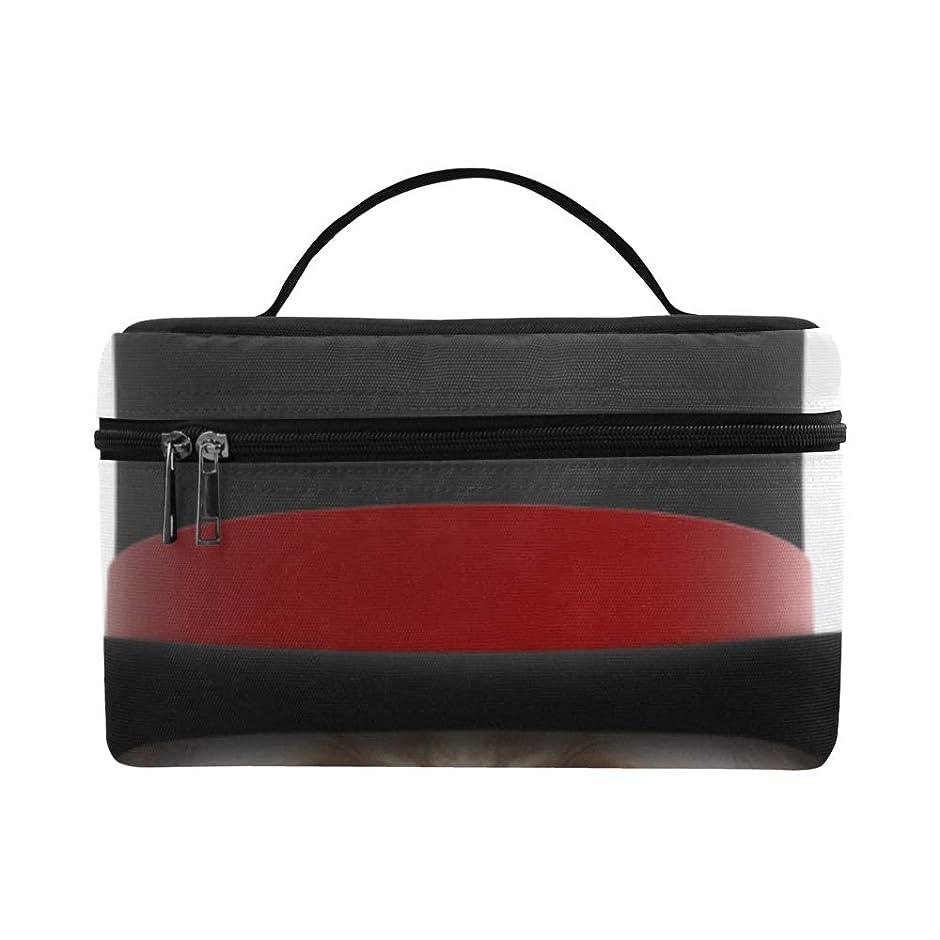 症候群乗算スタジアムXHQZJ メイクボックス かわいい 動物犬 黒い帽子 コスメ収納 化粧品収納ケース 大容量 収納ボックス 化粧品入れ 化粧バッグ 旅行用 メイクブラシバッグ 化粧箱 持ち運び便利 プロ用