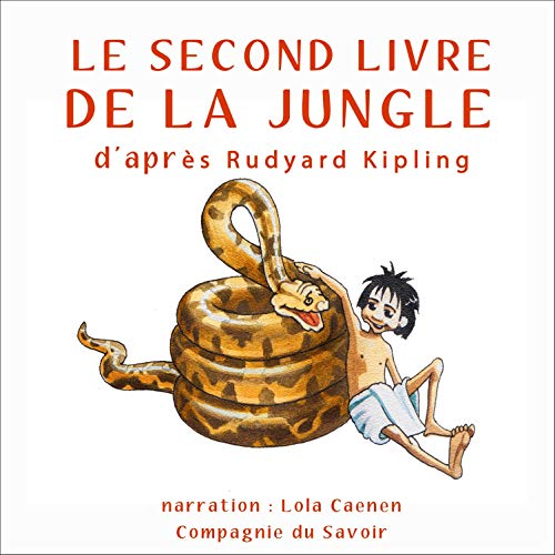 Couverture de Le second livre de la jungle