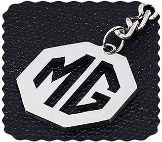 ميدالية مفاتيح سيارة ام جى من الفولاذ المقاوم للصدأ