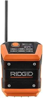 Ridgid 18-Volt Mini Bluetooth Radio (Tool-Only)(Bulk Packaged) (Renewed)