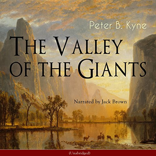 The Valley of the Giants audiobook cover art