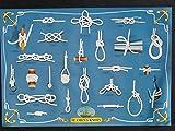 Unbekannt Hobbyposter Seamans Knots (Seemannsknoten) Poster