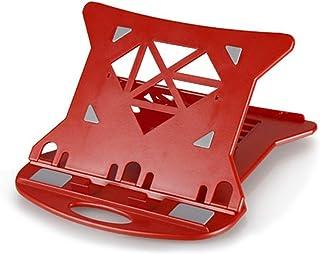 LJJL Soporte para computadora portátil, Soporte de elevación de Mesa Cervical Bastidor de radiador de elevación portátil Estructura Perezosa de Soporte (Color : Red)