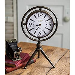 Colonial Tin Works CTW 530325 Chaplin Tabletop Clock, 17-inch Height
