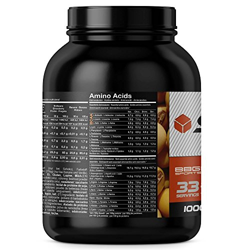 Soja Isolate GOLD – (100% vegan natural Soy Protein, lactosefrei, natuerliches Eiweiss Isolat), by BBGenics Sports Nutrition, 1000g Vanille - 4