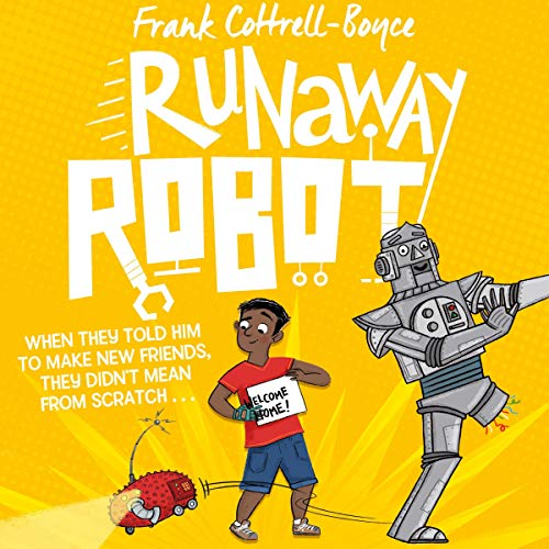 Runaway Robot audiobook cover art