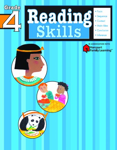 Compare Textbook Prices for Reading Skills: Grade 4 Flash Kids Harcourt Family Learning Workbook Edition ISBN 9781411401167 by Flash Kids Editors