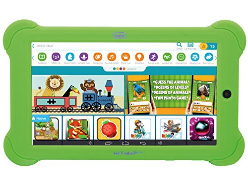Tablet PC Per Bambini Trevi KIDTAB 7 C16 Quad Core Verde