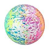 JSSEVN 1 ballon de plage en PVC - Jouet pour l'été - Pour la piscine, les fêtes - 9 pouces