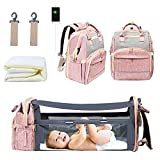 WiseWater Diaper Bag Backpack with Changing...